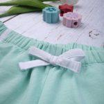 Σορτσάκι Jersey Ανοιχτό Πράσινο για Κορίτσι