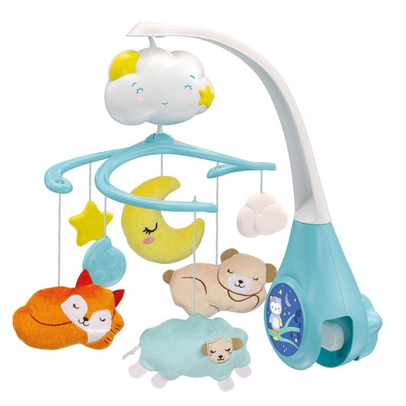 Baby Clementoni Βρεφικό Περιστρεφόμενο Skydreams - Sweet Cloud Cot Mobile 1000-17279