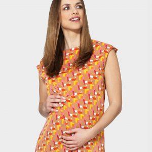 Γυναικεία Αμάνικη Μπλούζα με Στάμπα