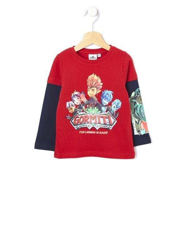 T-shirt με Στάμπα Gormiti για Αγόρι