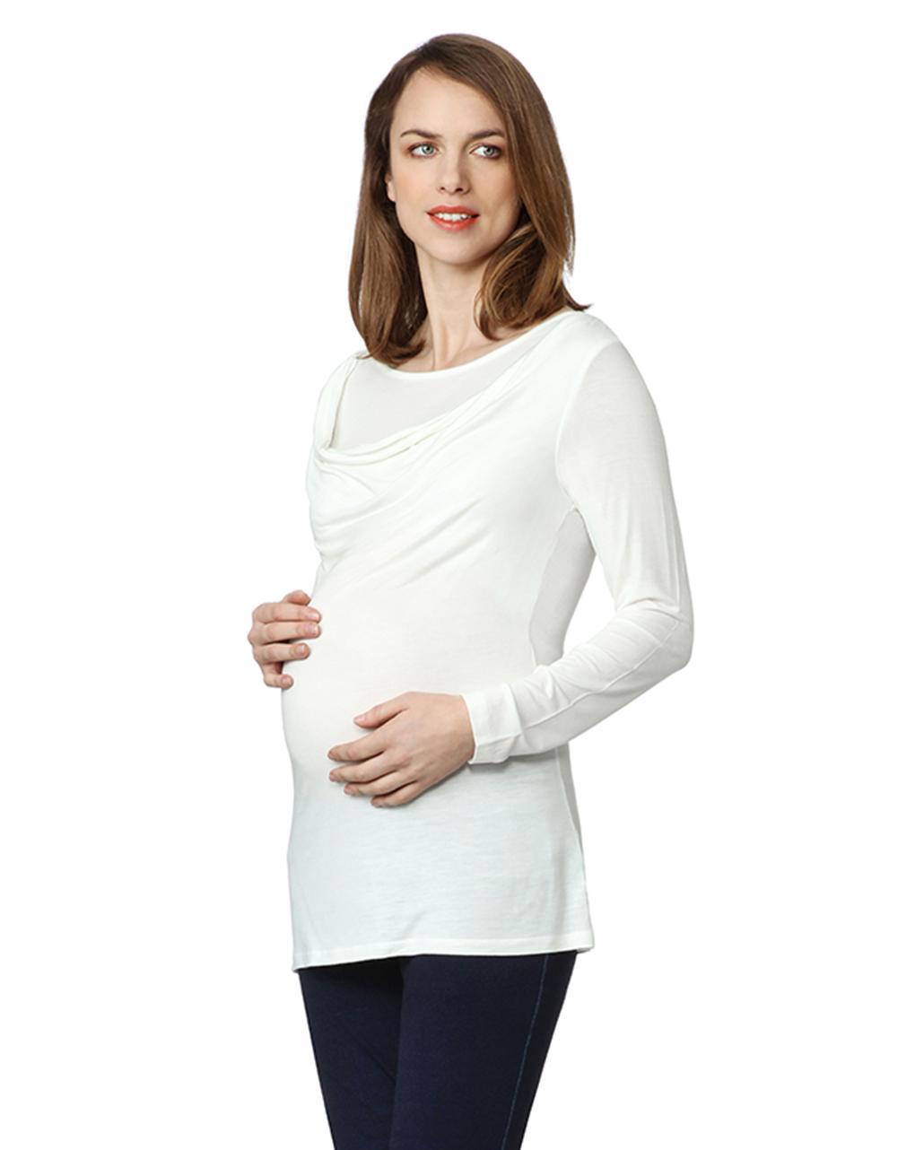 Γυναικεία Μπλούζα Θηλασμού Λευκή