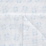 Σετ Σεντόνι+Μαξιλαροθήκη για Λίκνο/Πορτ Μπεμπε Γαλάζιο