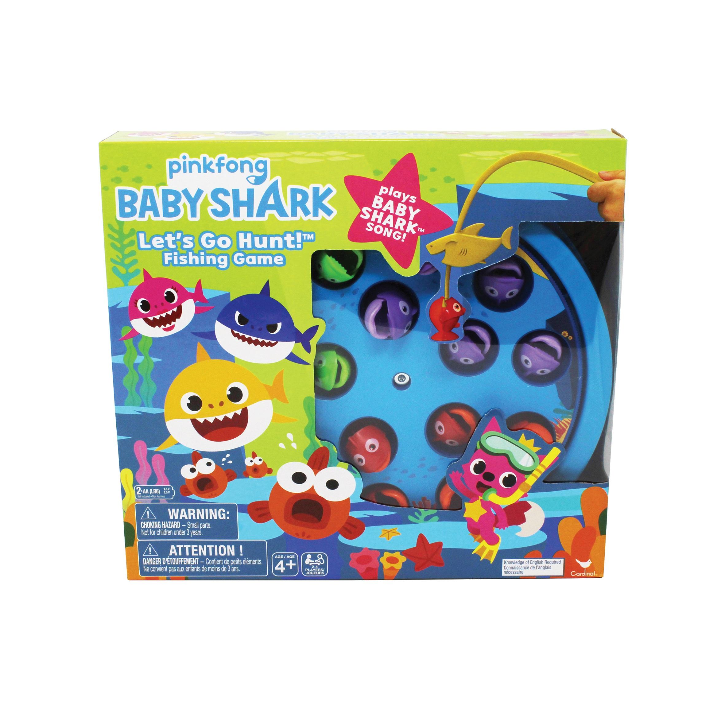 Baby Shark  Επιτραπέζιο - Ψαρέματα με Τραγούδι Baby Shark  6054916