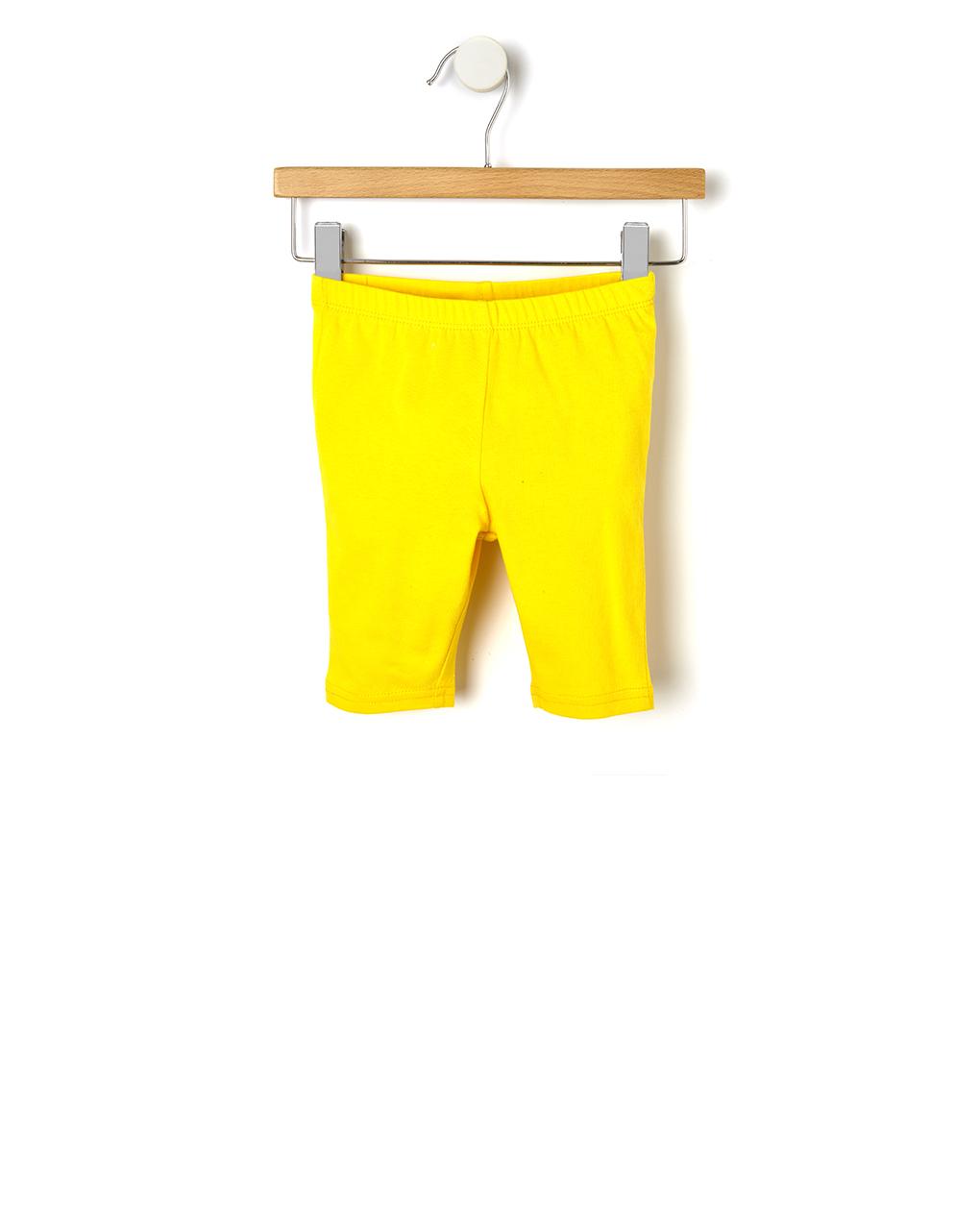 Κολάν Jersey 3/4 Basic Κίτρινο για Κορίτσι