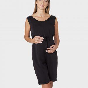 Γυναικεία Φόρμα Κοντή Μαύρη
