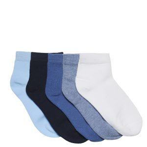 Κάλτσες Κοντές Χρωματιστές Πακέτο Χ5 για Αγόρι
