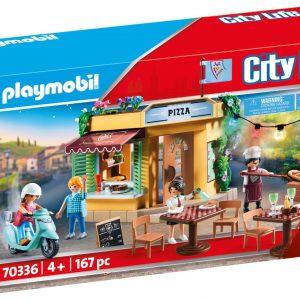 Playmobil Λαμπάδα Πιτσαρία 70336