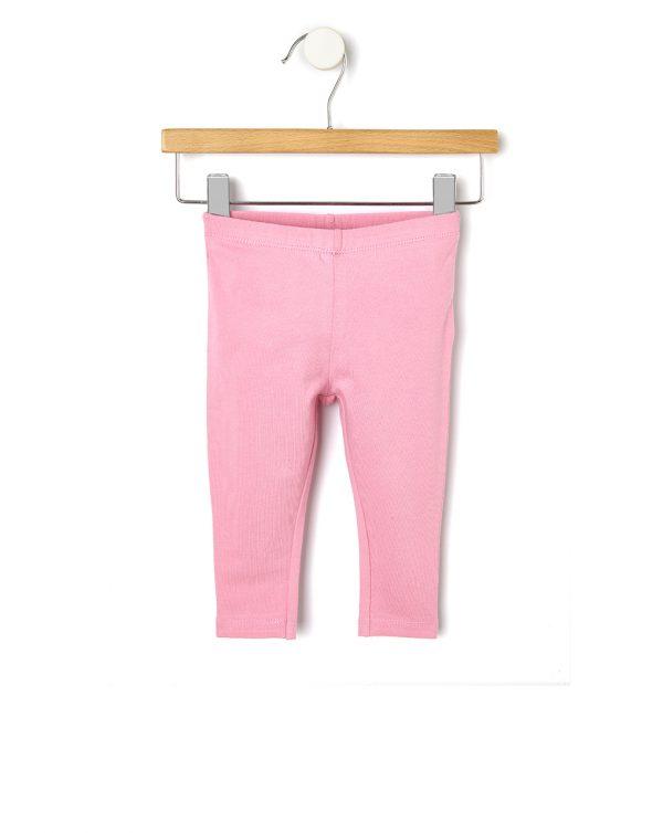 Κολάν Jersey Basic Ροζ για Κορίτσι