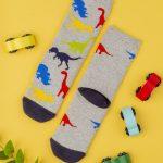Κάλτσες Αντιολισθητικές Δεινόσαυρος για Αγόρι
