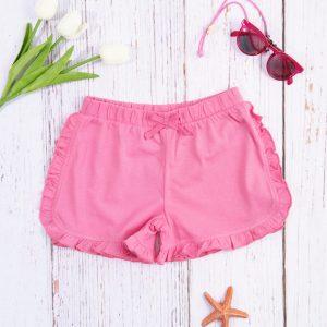 Σορτσάκι Jersey Ροζ για Κορίτσι