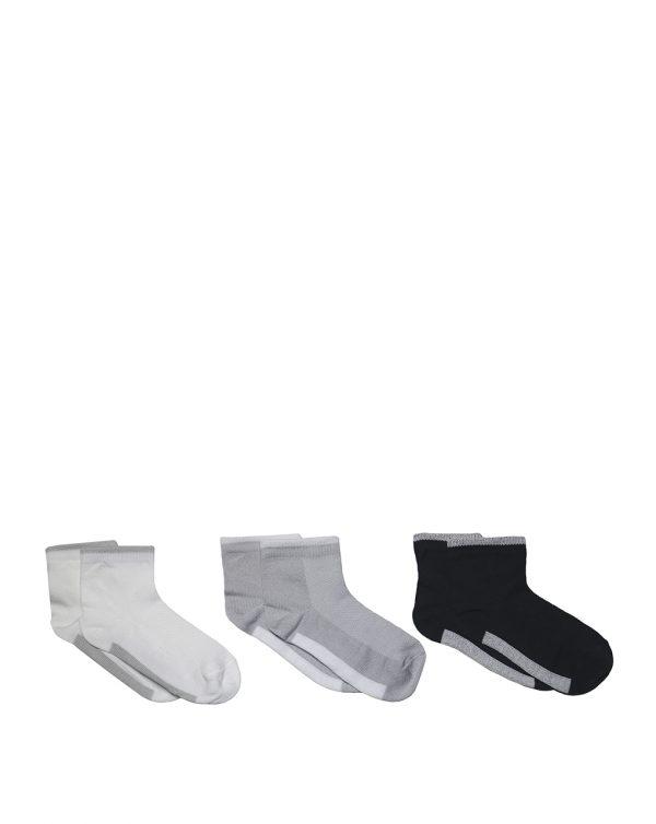 Κάλτσες Κοντές Πακέτο Χ3 για Αγόρι