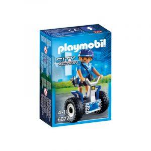 Playmobil City Action Γυναίκα αστυνομικός με Balance Racer 6877
