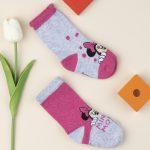 Κάλτσες Minnie Πακέτο Χ2 για Κορίτσι