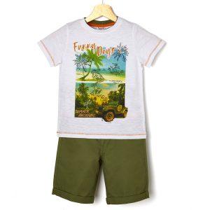 Σετ T-shirt Σορτς για Αγόρι