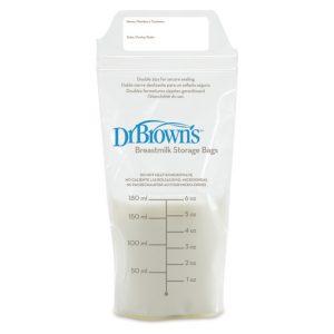 Dr Brown's Σακουλάκια φύλαξης μητρικού γάλακτος (6 oz/180 ml)