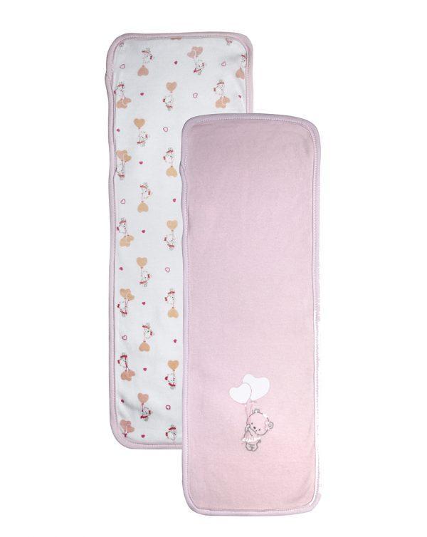 Πετσέτα για Αναγωγή Πακέτο Χ2 για Κορίτσι - one size