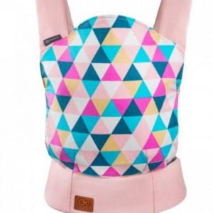 Kinderkraft Μάρσιπος Baby Carrier Nino Για Παιδιά Έως 20 Kg Χρώματος Ροζ