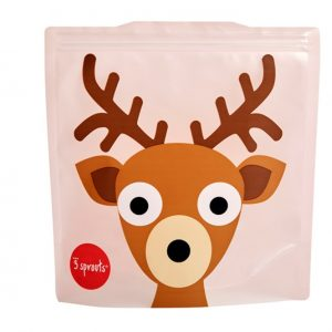 3Sprouts Θήκες Για Τα Σάντουιτς-Deer (2 Τμχ)