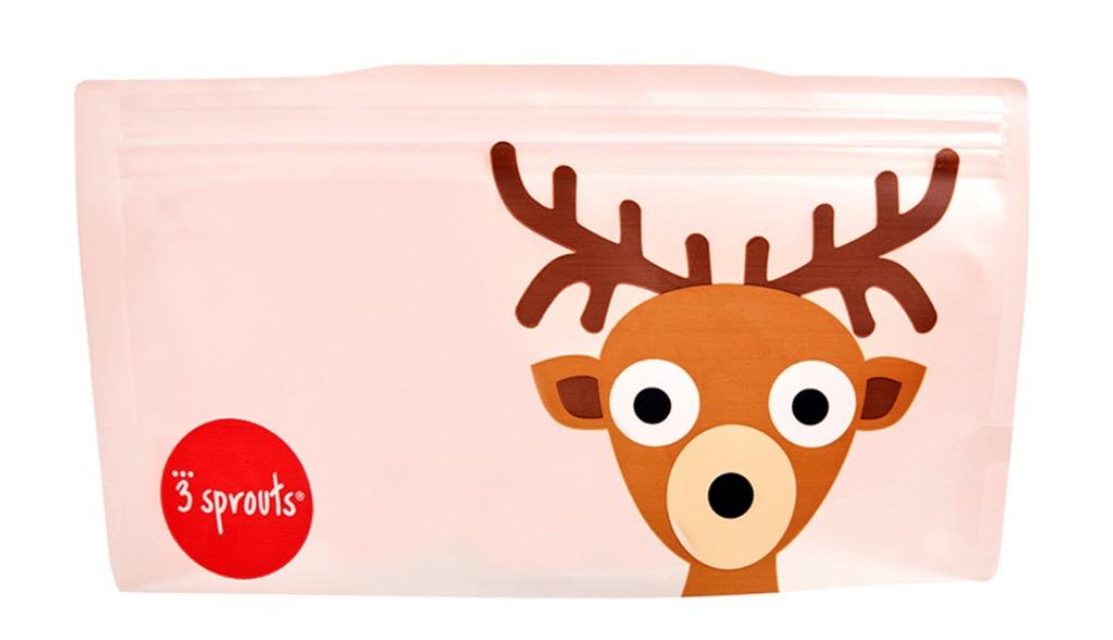 3Sprouts Θήκες Σνακ-Deer (2 Τμχ)