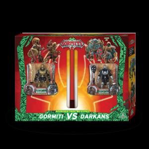 Λαμπάδα Gormiti VS Darkans Με Αποκλειστικές Φιγούρες s2 gre16811