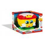 Baby Clementoni Βρεφικό Παιχνίδι Ρούλης Τυμπανούλης 1000-63210