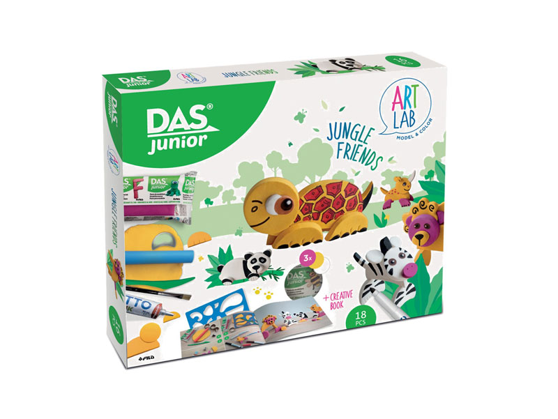 GIOTTO ART LAB Σετ Δημιουργίας Das Junior Art Lab Jungle Friends 000348500