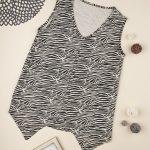 Γυναικεία Αμάνικη Μπλούζα Θηλασμού