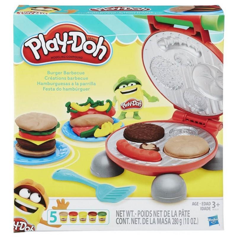 Play-Doh Σετ Burger Barbecue B5521