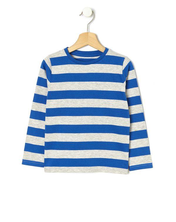 T-shirt με Ρίγες Μεγ. 8-9/9-10 ετών για Αγόρι