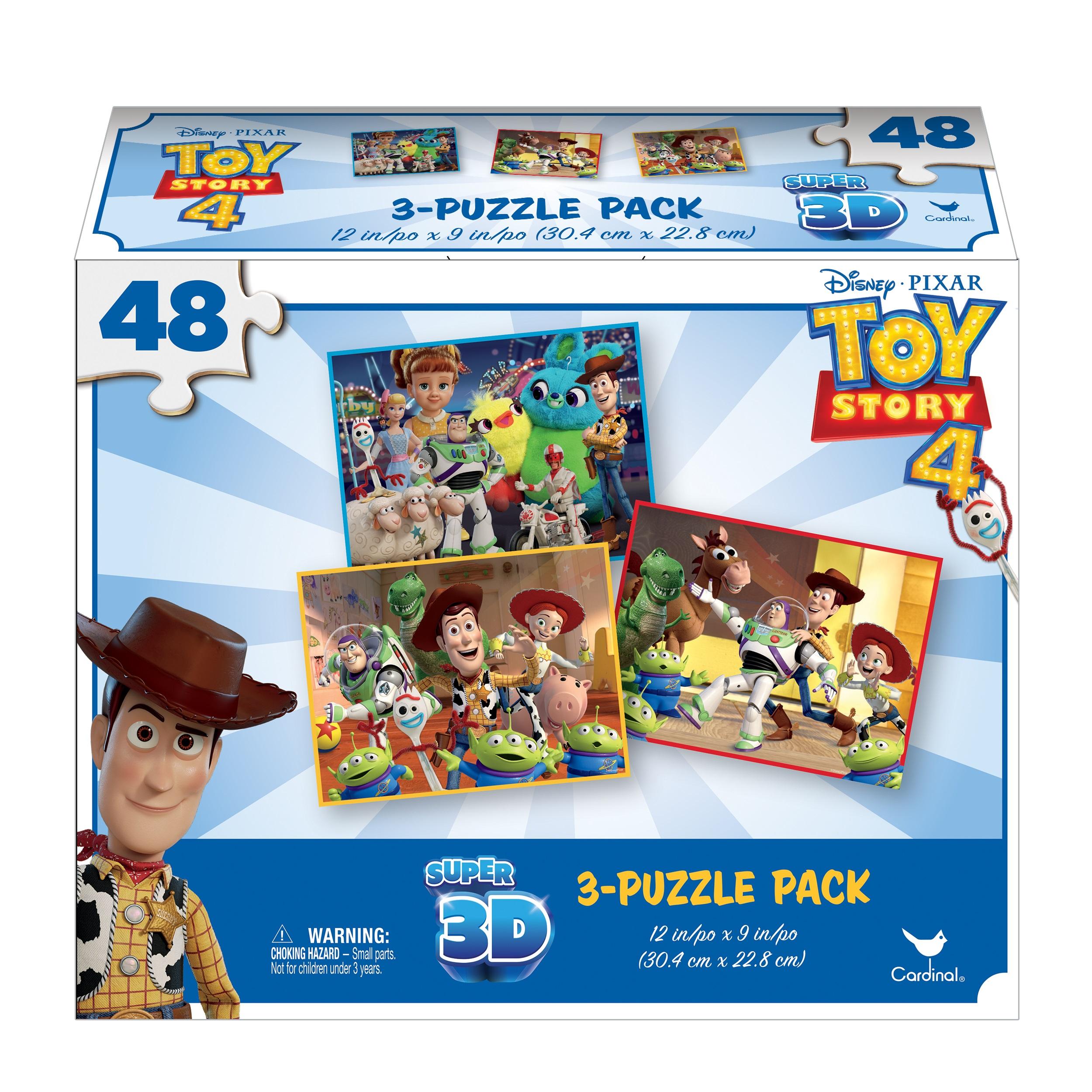 Toy Story  4 3 Σχέδια Παζλ Τρισδιάστατης Εικόνας   6052966