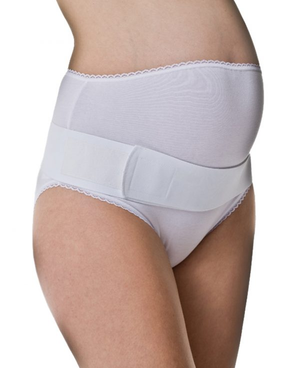 Γυναικεία Ζώνη εγκυμοσύνης λευκή