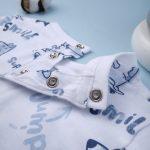 Μπλούζα Μακρυμάνικη με Σχέδια για Αγόρι