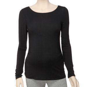 Γυναικεία Μπλούζα από Microfibra Μαύρη