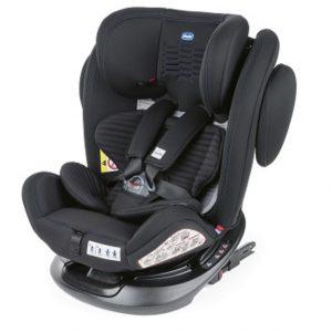 Chicco Κάθισμα Αυτοκινήτου Unico Plus Air (Group 0_1 _2_3) Black Air