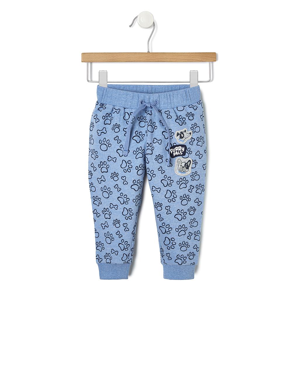 Παντελόνι Φούτερ Μπλε για Αγόρι