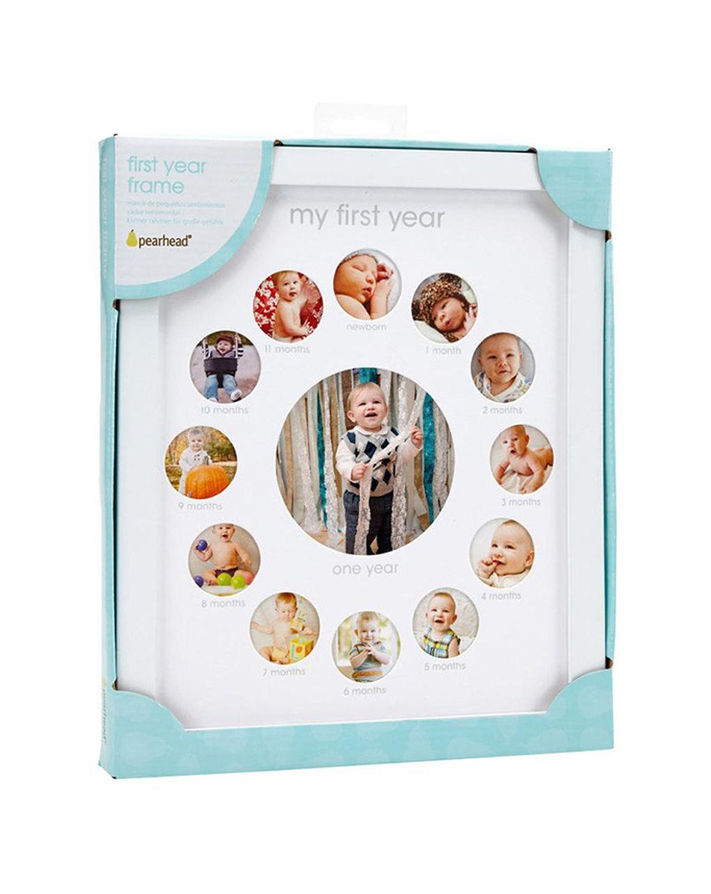 Pearhead First Year Baby Keepsake Photo Frame