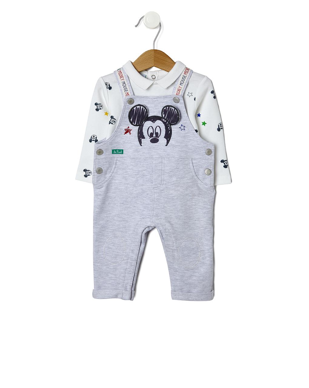 Φορμάκι Fleece με Micky Mouse για Αγόρι