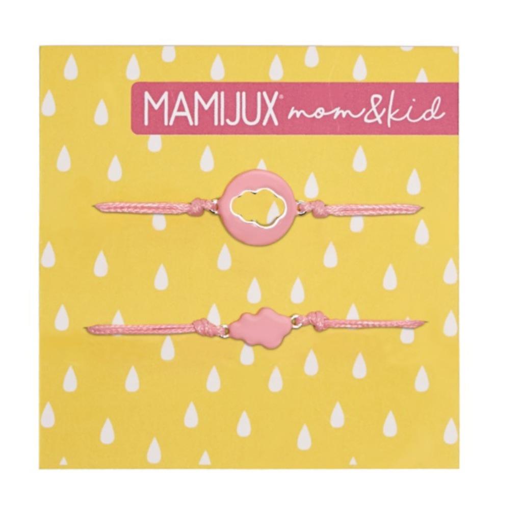 Mamijux Βραχιόλια MOM & KID Σχέδιο Συννεφάκι