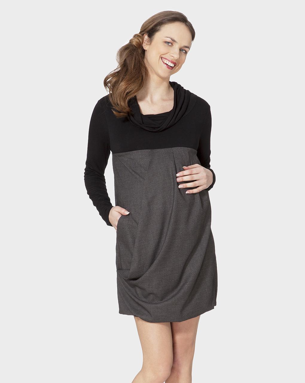 Γυναικείο Φόρεμα Δίχρωμο