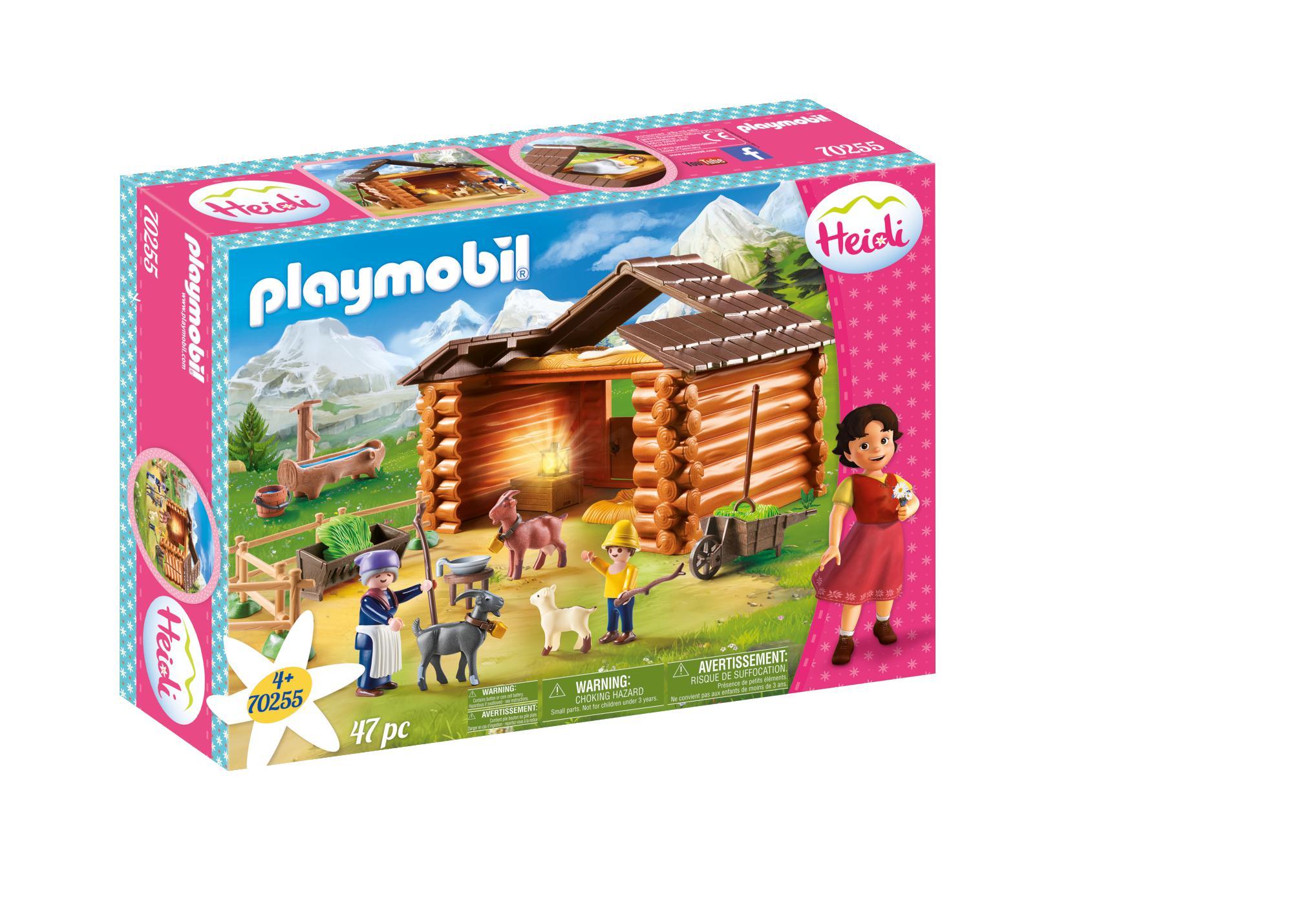 Playmobil Χάιντι Με Τον Παππού Στην Καλύβα 70253