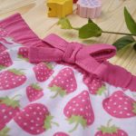 Σορτσάκι Jersey με Στάμπα Φράουλες για Κορίτσι