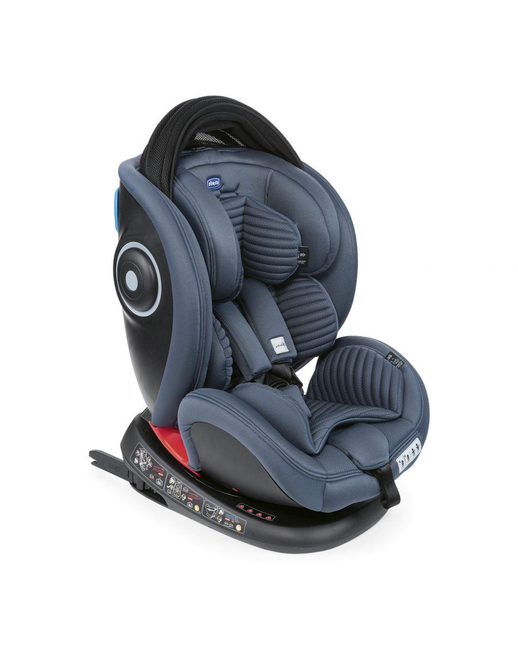 Chicco Κάθισμα Αυτοκινήτου Seat4Fix Air 0-36kg Ink