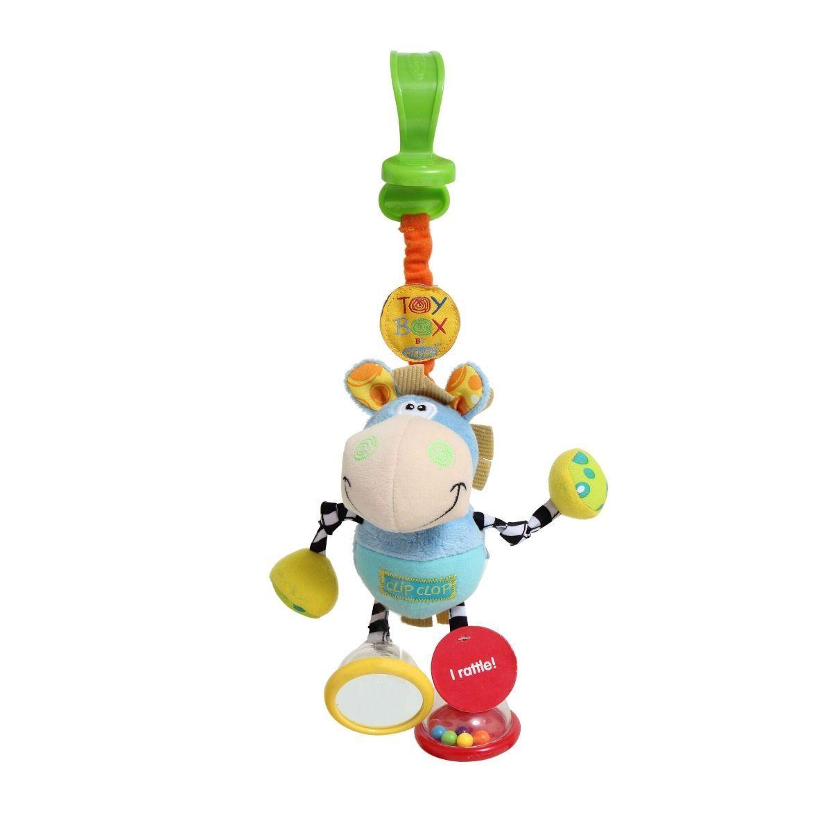 Playgro Παιχνίδι καροτσιού με κουδουνίστρα Clip Clop