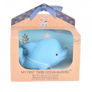 Tikiri Toys Βρεφικό Παιχνίδι Μασητικό Δελφίνι