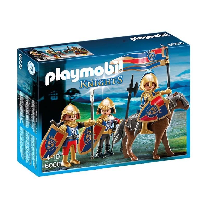 Playmobil Knights Βασιλικοί Λεοντόκαρδοι Ιππότες 6006