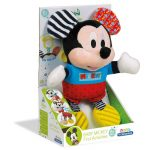 Baby Clementoni Mickey Κουδουνίστρα-Χνουδωτό 1000-17165