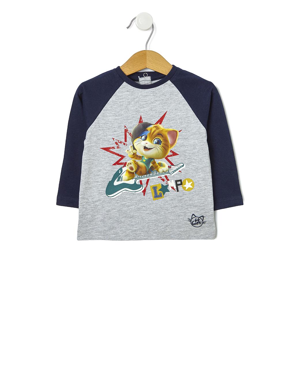 Μπλούζα 44 Γάτες για Αγόρι