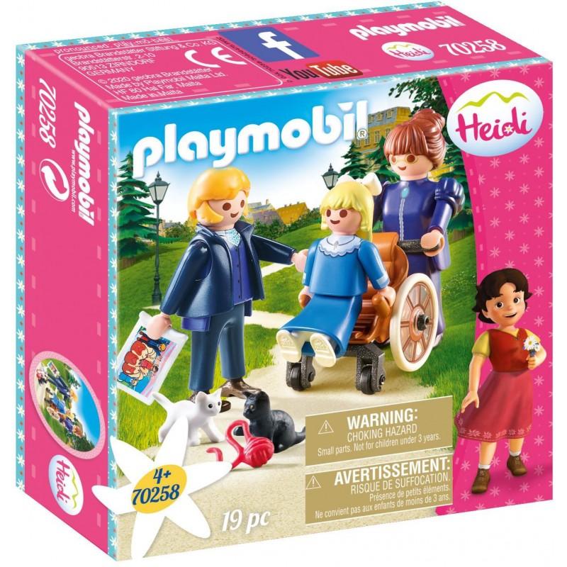 Playmobil Heidi Κλάρα, Πατέρας Και Δεσποινίς Ροτενμάιερ 70258