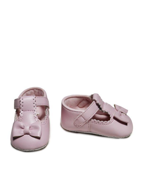 Βρεφικά Παπούτσια Αγκαλιάς Ροζ για Κορίτσι