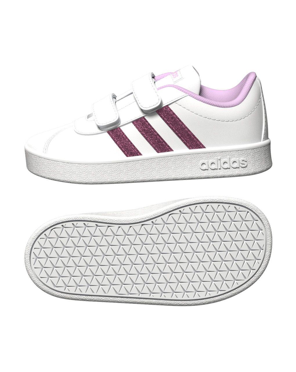 Αθλητικά Παπούτσια Adidas Vl Court 2.0 CMF I FY9277 για Κορίτσι